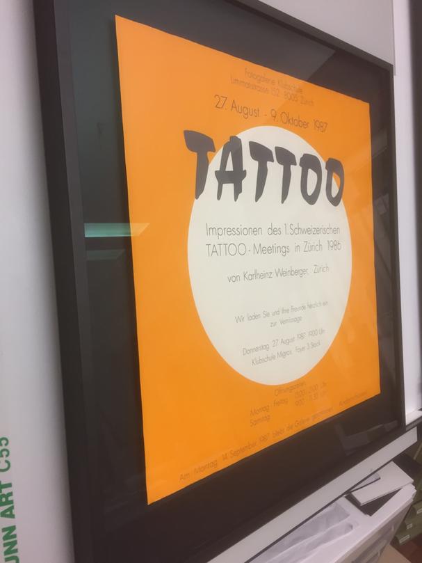 Tattoo-Plakat  1986