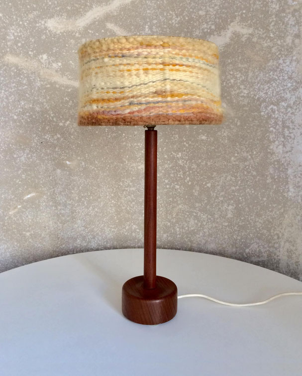 Uno et Östen Kristiansson, lampe vintage, lampe scandinave, lampe teck