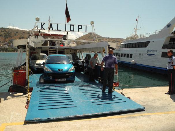 Kleinfähre Korfu (Kerkyra) - Sarandë (Albanien)