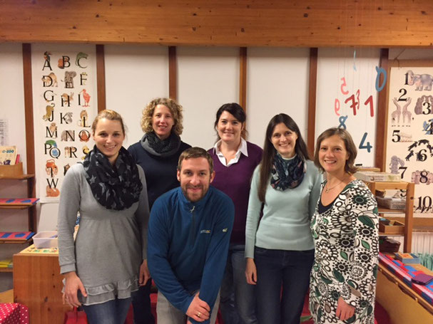 Der neue Beirat (v.l.): Anja Bussmann (Vors.), Melanie Kleiser (Schriftf.), Karen Goertz, Bianca Stadelmann, Dorothea Pirnbaum, Daniel Poplawski.
