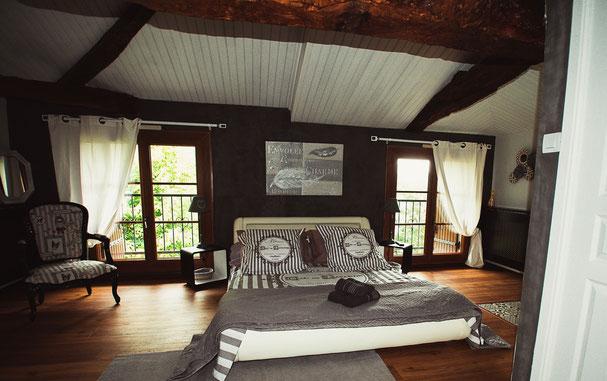 Domaine Quiescis - Chambre d'hôtes et hébergements insolites - Chambre cosy chic - Marcellus - Lot et Garonne