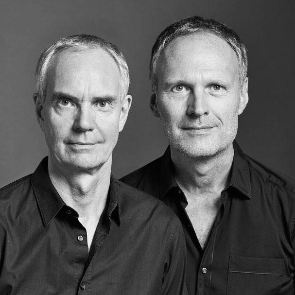 Wolfgang Reichert (links) und Uwe Frick (rechts), Frick.Reichert Architekten Frankfurt am Main