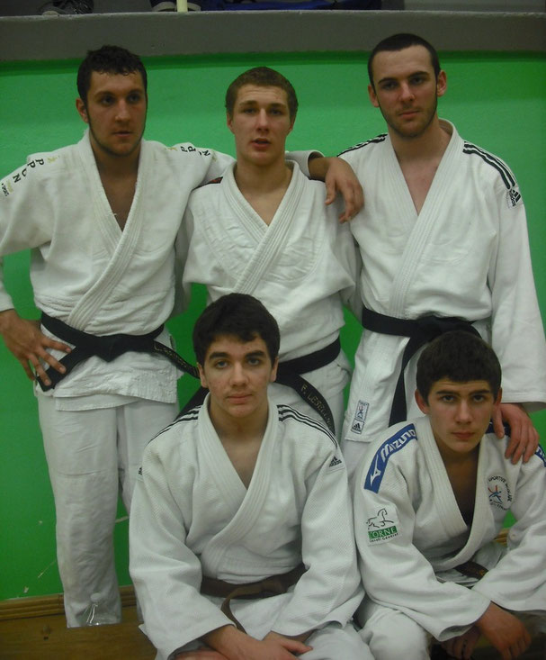 L'équipe juniors à Houlgate