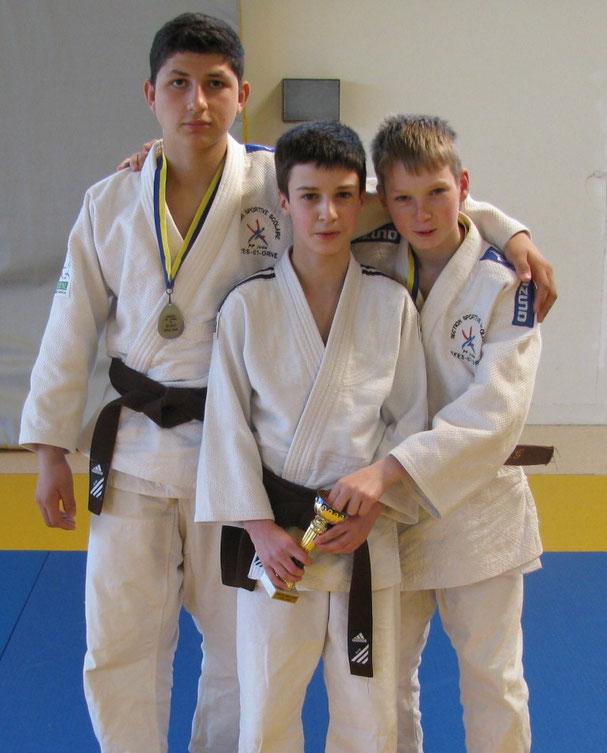 Juan-Raphaël, Quentin et Gabin