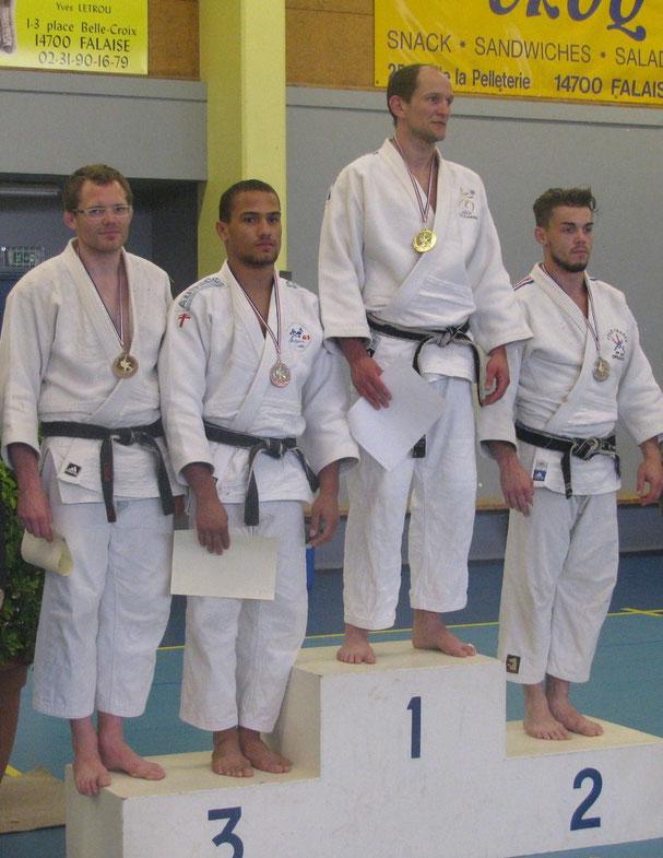 Florian Lesellier -81 kg 2ème de la Coupe de Normandie