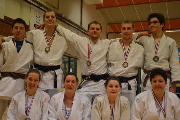 Les médaillés du JCA