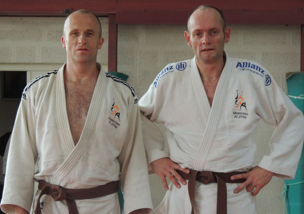 Christian Bazoche et Olivier de Bats de Cugnac