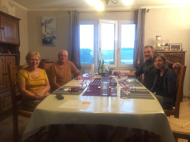 Marie-Jose, Jean-Marie, Thomas en Lorina