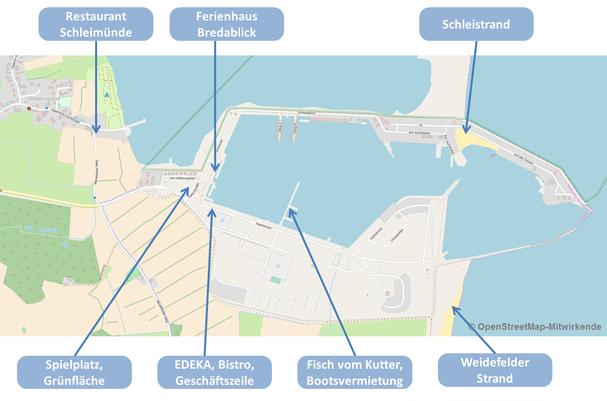 Ostseeresort Olpenitz : Freizeit und Versorgung
