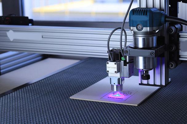 Das Digitalum Wittgenstein stellt im FabLab neueste Technologien von CNC, 3D-Druckern etc. zur Verfügung