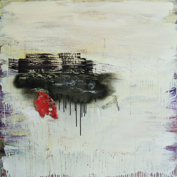 Albena 3ala Masr - Our Hearts are with Egypt (1m by 80cm, Acrylic, relief, manipulation)