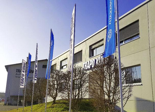 Trapo Küng Firmenzentrale Zwingen