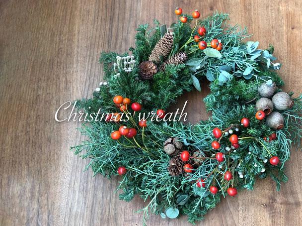 Christmas wreath /クリスマスリース ご予約承ります
