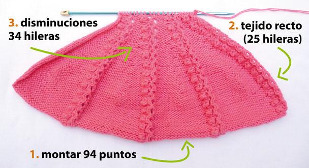 Gorro con visera a crochet - Tejiendo Perú