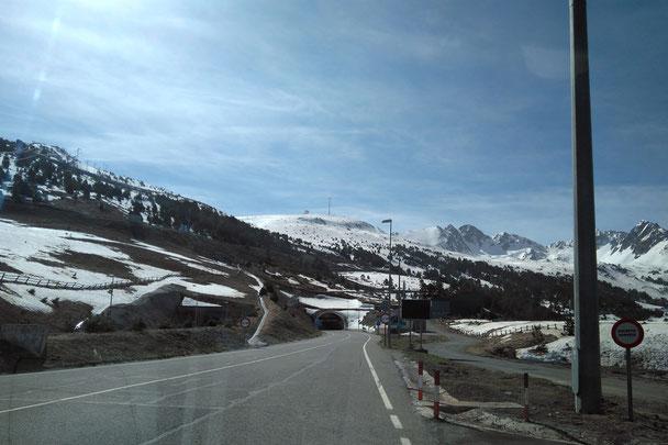 am 25. April lag noch so viel Schnee in 1700 Metern Höhe