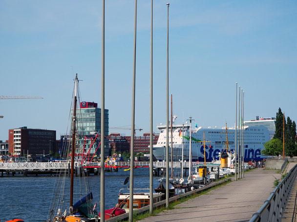 Fähre nach Skandinavien