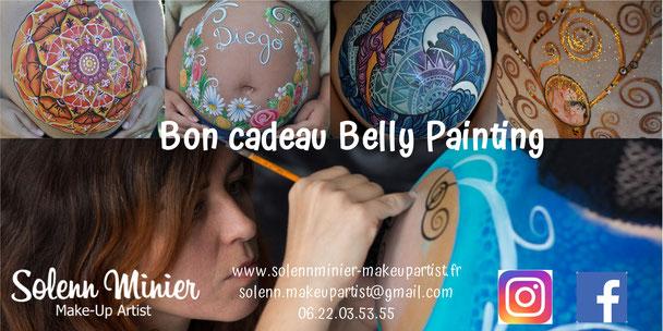 solenn minier make up artist maquilleuse professionnelle belly painting cadeau noel femme enceinte grossesse rennes bretagne
