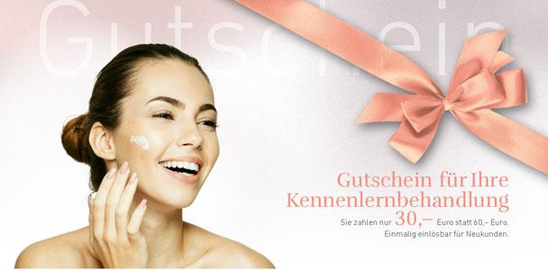 Gutschein für Ihre Kosmetik Kennenlernbehandlung