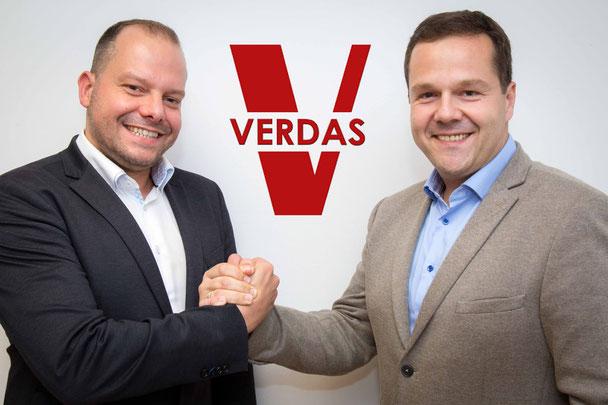 Franz Irrasch und Gernot Scheucher, VERDAS Versicherungsagenten in Graz