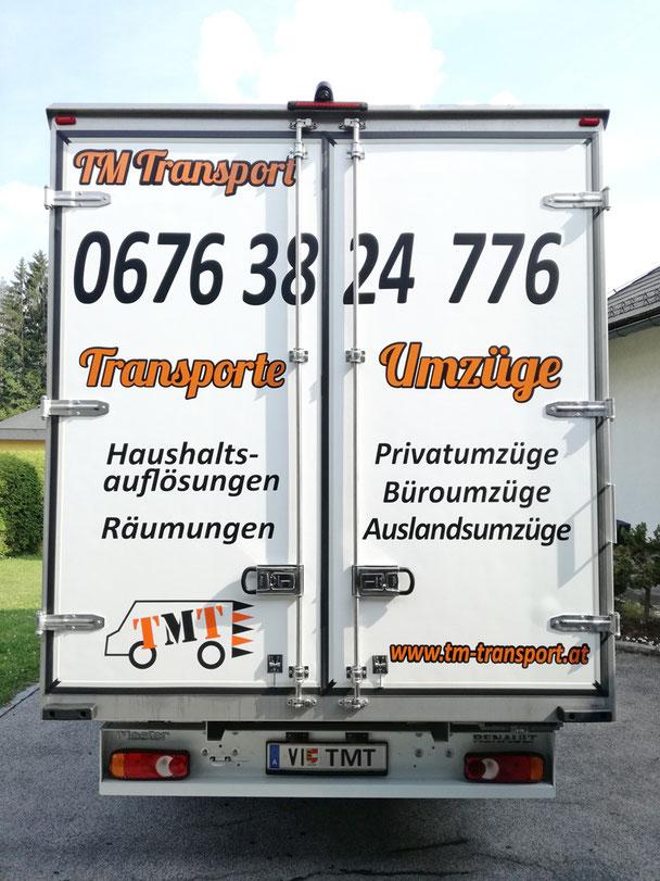 Umzugswagen, Möbelwagen