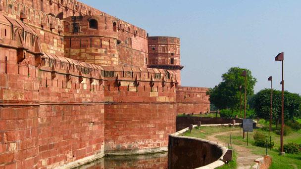 Reiseberichte Indien: Agra, Rotes Fort, Taj Mahal