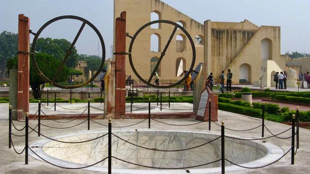 Indien Reise: Jaipur. Observatorium.