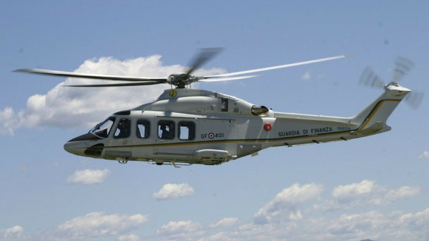 AW139 Guardia di Finanza (Foto: GdiF)