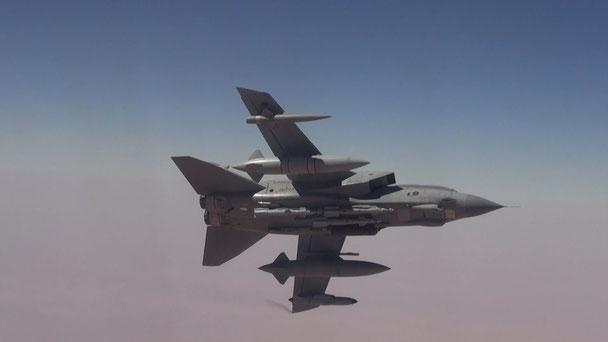 Il Tornado Gr.4 della RAF ha rappresentato una pietra miliare nella componenete d'attacco della RAF (Foto: RAF)
