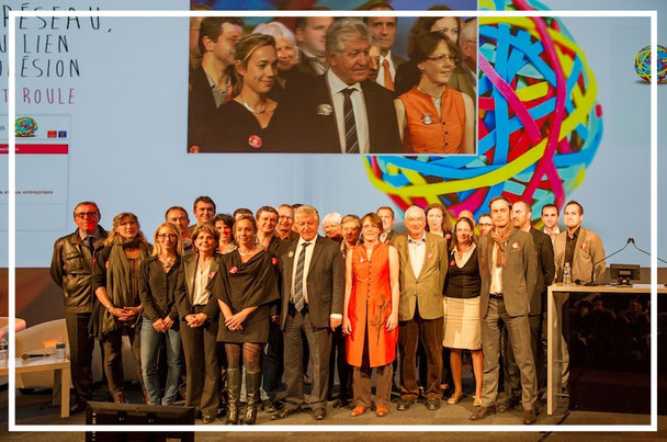"""Remise des prix aux entreprises """"pépites"""" des pépinières d'entreprises de Midi-Pyrénées par le REZOPEP - Toulouse - 12/2014"""