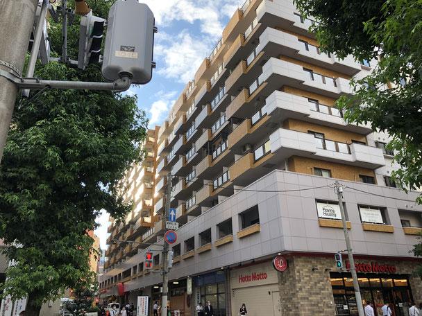 博多あんしん整体院の入っているビルの外観イメージ