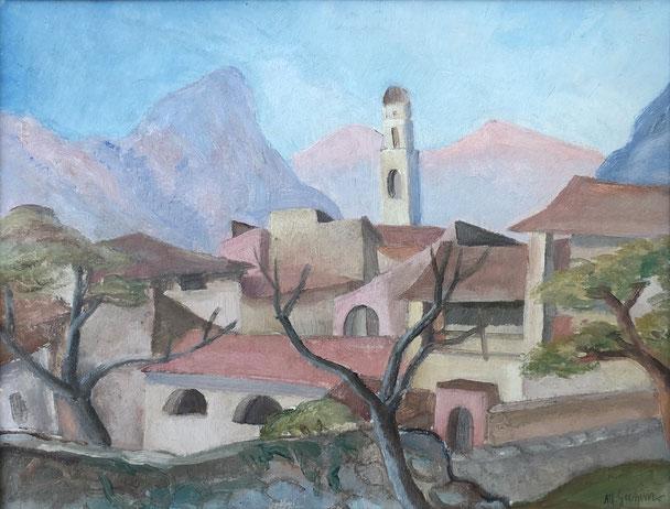 Alfons Grimm, Tessiner Dorf