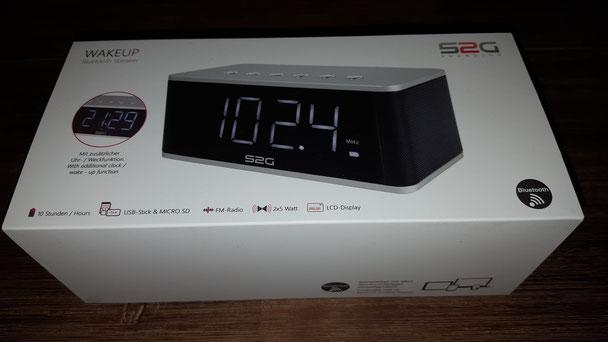 Bluetooth Lautsprecher Wakeup Sound2go