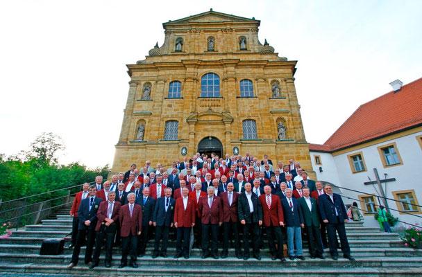 Sängergruppe Amberg beim Bergfestsingen 2014