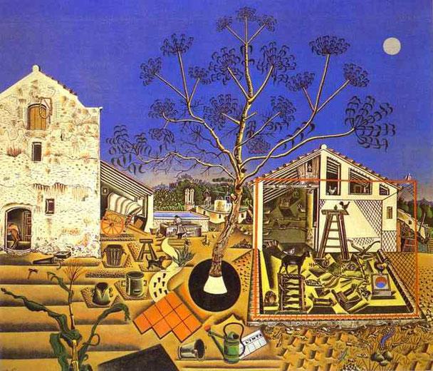 Ферма - картина Жоана Миро