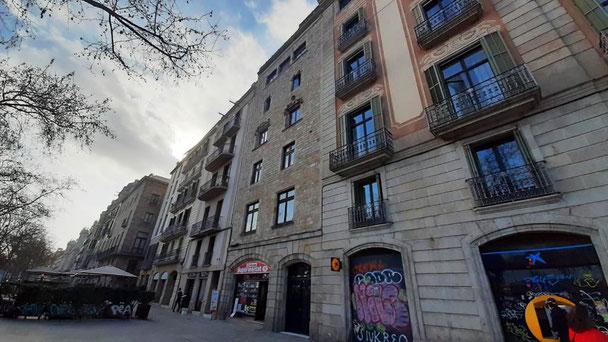 Барселона. Дом, в котором жил Сервантес, автор Дон-Кихота