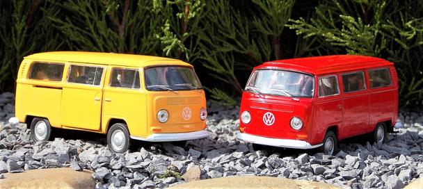 BW Bus T2, Volkswagen, 12 cm
