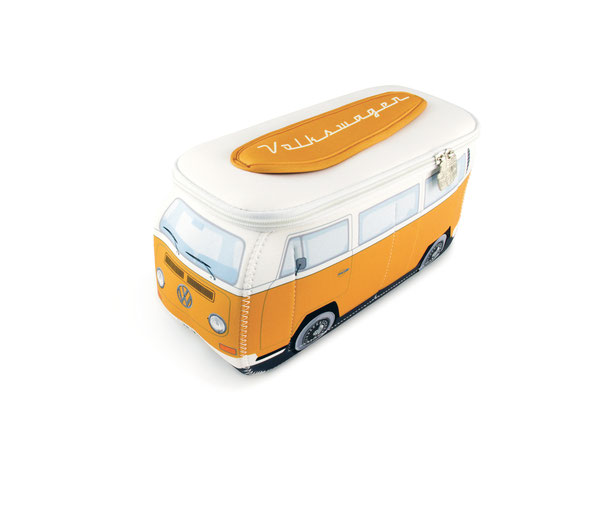 VW T2 BUS 3D NEOPREN Mäppchen,Reiseapotheke, Kosmetiktasche,Kühltasche