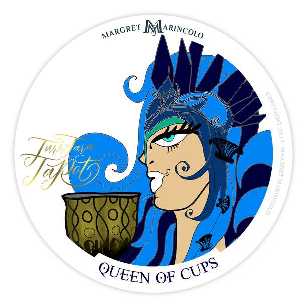 Die Königin der Kelche im Tarot für Dualseelen