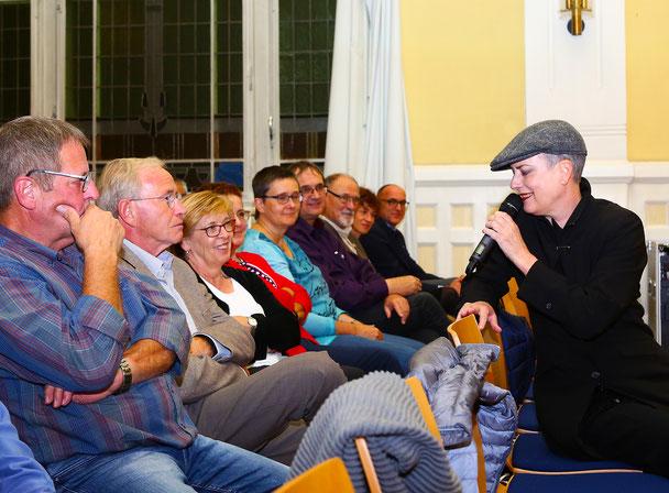 Tirzah Haase im Publikum