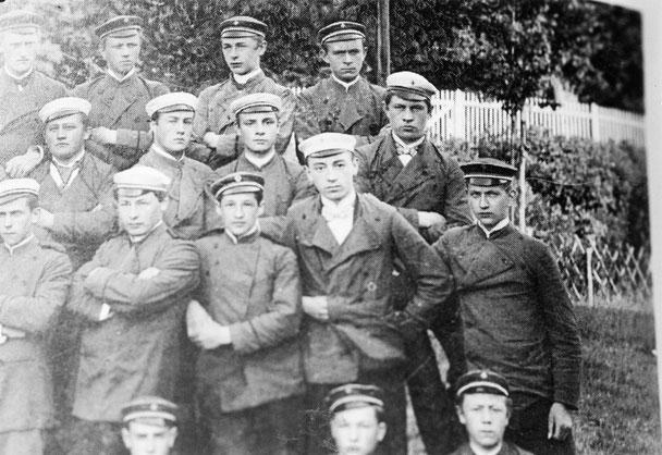 Der gymnasiale Turnverein Attendorn im Jahr 1901