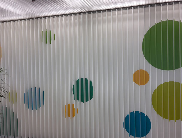 Gestaltung und Herstellung von Großraumbüro - Elementen  (Design: Boje | Jürgens | Raßbach als bombianders )