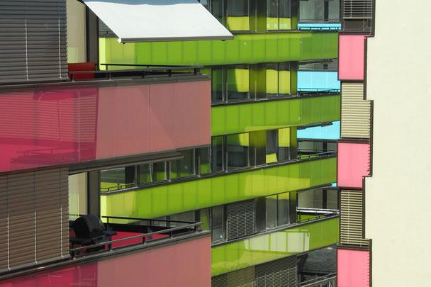 Wohnbauten Hopf & Wirth Architekten Winterthur, Wohnüberbauung Talwiesen