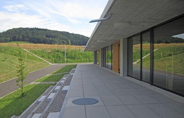Neubau / Umbau Erweiterung Schulhaus Steinboden, Schulgemeinde Eglisau, Hopf & Wirth Architekten