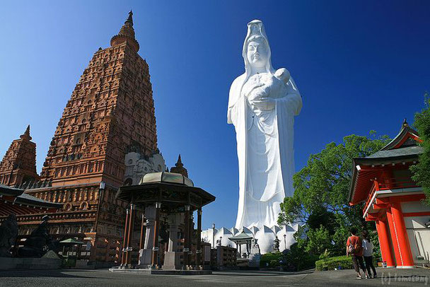Kurume et son Bouddha de la miséricorde