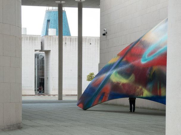 artmuseum bonn, Kunstmuseum bonn, hidden person, hidden man, versteckte Person, La Bonn heure,