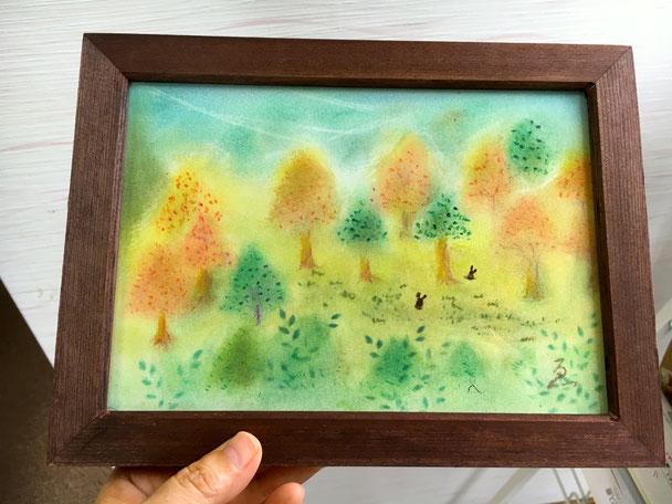受講生様のパステルアート作品