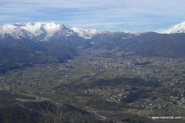 da qui la Val Sangone da il meglio di sè