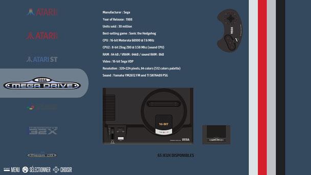 Recalbox ES interface