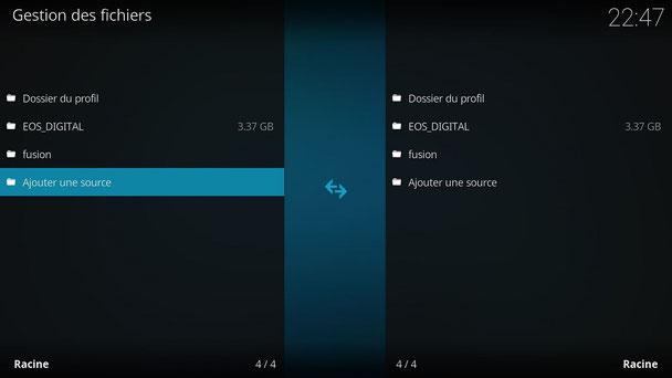 installer addon Fusion sur Kodi mediacenter