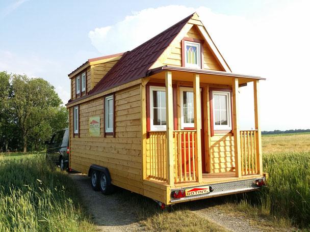 Haus auf Rädern tiny house